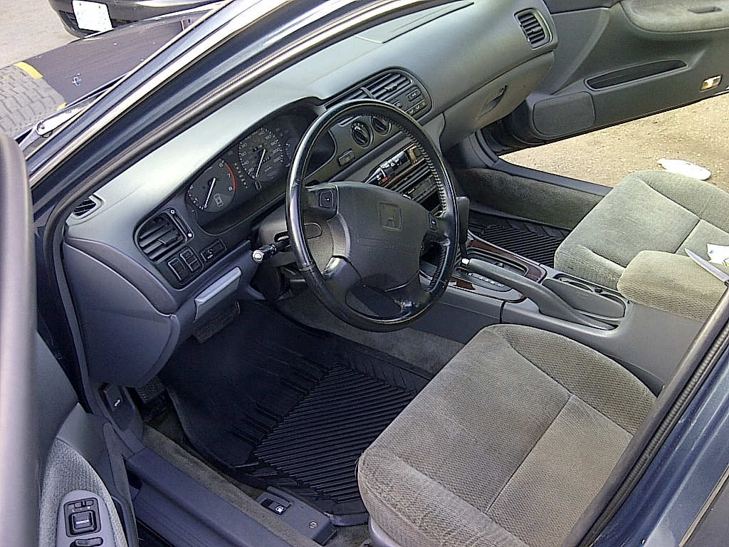 Picture of cleaned car interior