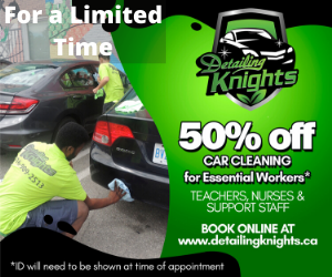 limited time special 50 percent off for essential workers